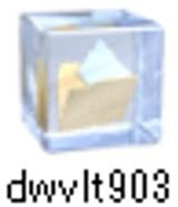 圧縮ファイル「dwvlt903」をダウンロード完了